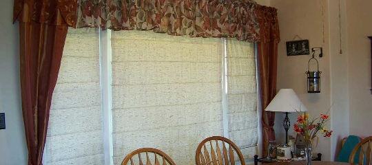 Римские шторы в частном доме Каширского района